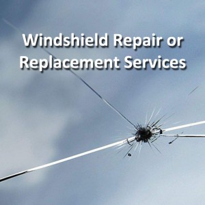 Auto Tech windshield repair or replacement